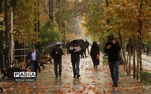 بارش باران در بیشتر استانهای کشور طی امروز