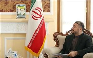 امیرعبداللهیان تحریم وزیر خارجه سوریه را محکوم کرد