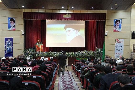 تجمع بزرگ بسیجیان درشهرستان فیروزکوه