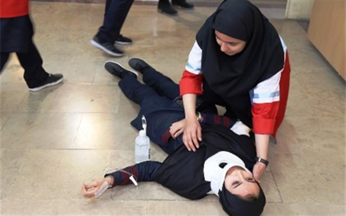 مانور زلزله و ایمنی در مدارس استان اردبیل