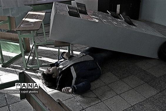 بیستمین مانور سراسری زلزله در پایتخت
