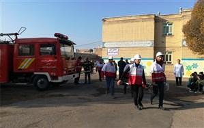 برگزاری مانور زلزله در پلدشت