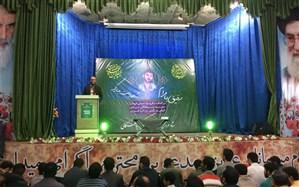 مراسم یادبود شهید حمید سیاهکالی مرادی در امامزاده حسین برگزار شد