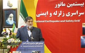 رئیس سازمان مدیریت بحران کشور عنوان کرد: آگاه سازی جامعه محور اصلی برگزاری مانور زلزله