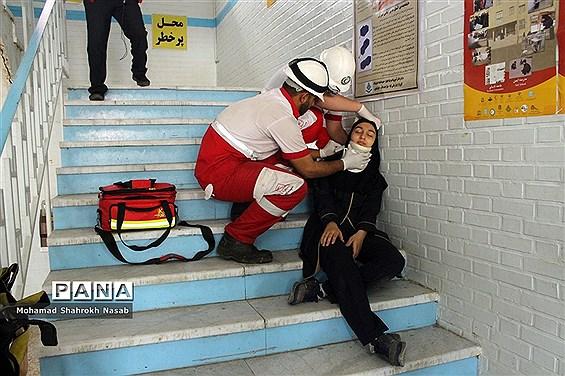 بیستمین مانور سراسری زلزله در اهواز