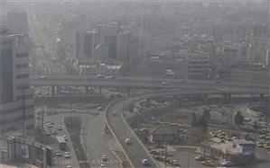 اطلاعیه مرکز پایش محیط زیست درباره آلودگی هوای تهران