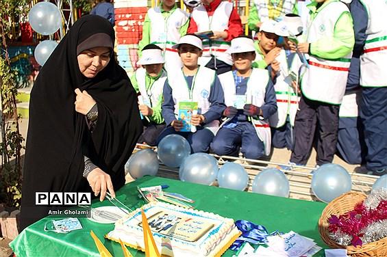 مراسم افتتاحیه طرح سفیران سلامت در چهاردانگه