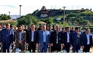 افتتاح اولین زمین مینی گلف استان خوزستان در مسجدسلیمان