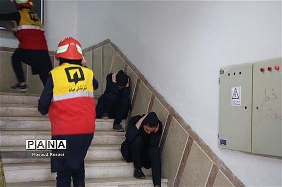 آتشنشانی 2 بار در سال  از مدارس تهران بازدید میکند