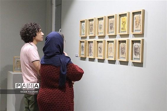 افتتاحیه نمایشگاه انفرادی سپس، جلوه ای دیگر از هنر نقاشی