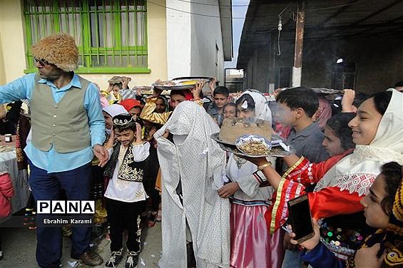 جشنواره فرهنگ بومی محلی مازندران در روستای کمیشان