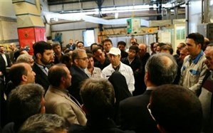 چرخ تولید و صنعت نباید در زنجان متوقف شود