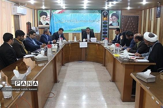 جلسه شورای برنامه ریزی سازمان دانشآموزی استان کرمان