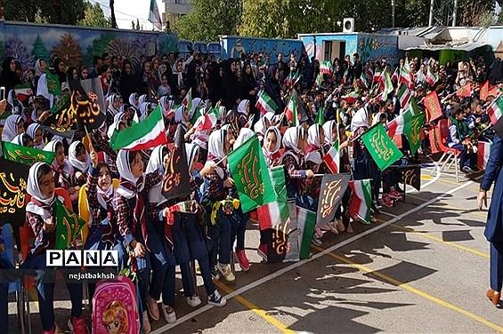 جشن شکوفهها در مدرسه تمام تشکیلاتی غیر دولتی پویا ـ شهر یاسوج
