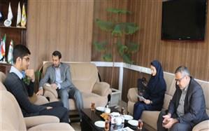 دیدار نمایندگان مجلس دانش آموزی با مدیرکل آموزش و پرورش استان مرکزی