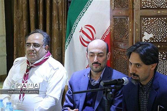 جلسه مدیران سازمان دانش آموزی مناطق 19گانه آموزش و پرورش شهر تهران در استان سمنان