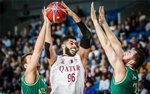 انتخابی جام جهانی بسکتبال؛ قطر با جام جهانی وداع کرد