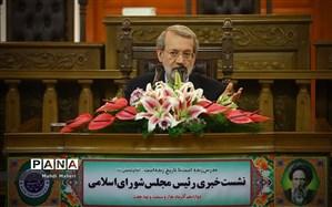 لاریجانی: به من گفتهاند سازوکار مالی اروپا تقریبا نهایی شده است