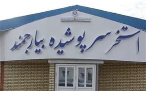 استخر سرپوشیده بیارجمند با حضور وزیر ورزش افتتاح شد