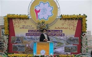 افتتاح رمپ شمال شرقی میدان افلاک نما و تعریض خیابان خبرنگار با اعتبار 150 میلیارد ریال