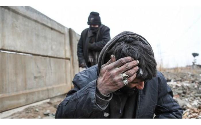 اعتیاد - معتادان متجاهر