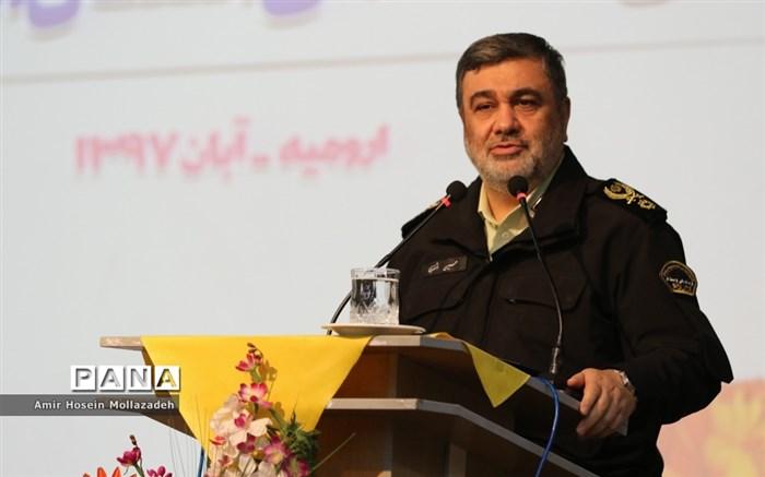 تکریم و معارفه فرمانده انتظامی آذربایجان غربی