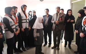 بازدید رئیس سازمان دانش آموزی استان همدان  از مجتمع آموزشی نابینایان موسی ابن جعفر