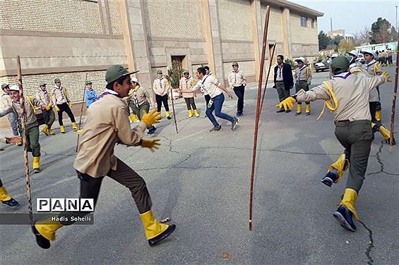 اردوی پیشتازان ویژه شهرستانهای استان تهران در قطب شهریار -۱