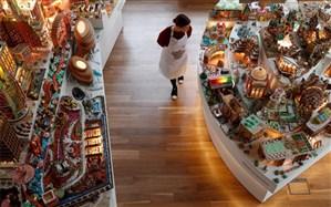 ساخت شهری از شیرینی توسط معماران + تصویر