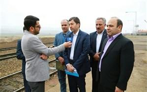 بازدید معاون عمرانی وزیرکشور از پروژه دوخطه کردن راه آهن زنجان-تهران