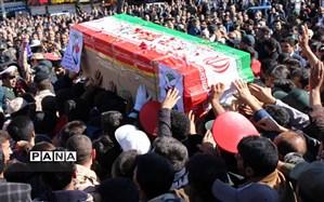 پیکر  پنجاه و دومین شهید طایفه بزرگ جلیل  در شهر  یاسوج تشییع و به خاک سپرده شد