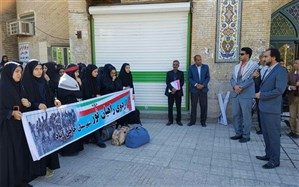 اعزام دانش آموزان حاجی آبادی به مناطق عملیاتی جنوب کشور
