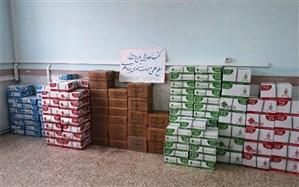 اهدای 134 پک آموزشی توسط بنیاد علوی