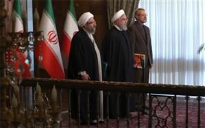 روحانی: به رغم تلاش آمریکاییها  آرامش مردم بعد از 13 آبان بیشتر شده است