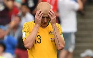 چهارمین بازیکن استرالیا هم جام ملتها را از دست داد