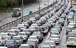 ترافیک نیمهسنگین در آزادراه قزوین-کرج و کرج- تهران