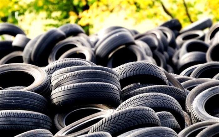 ۷۵۶ حلقه لاستیک احتکار شده در مرند کشف شد
