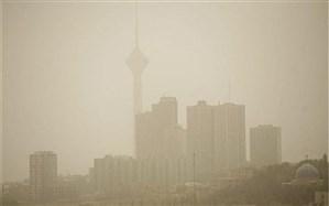 افزایش  غلظت آلاینده ذرات معلق در هوای تهران