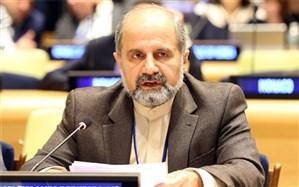 سفیر ایران در سازمان ملل متحد: شورای امنیت باید آمریکا را قویا محکوم کند