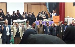 کارگاه آموزشی و مراسم تحلیف مربیان تشکیلات دانش آموزی پیشتازان در تربت حیدریه برگزارشد