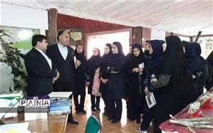بازدید دانش آموزان چهاردانگه از پارک علم و فناوری احمد آباد مستوفی