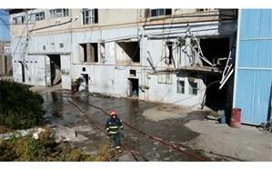 نشت گاز آمونیاک در کارخانه روغن نباتی  نیشابور