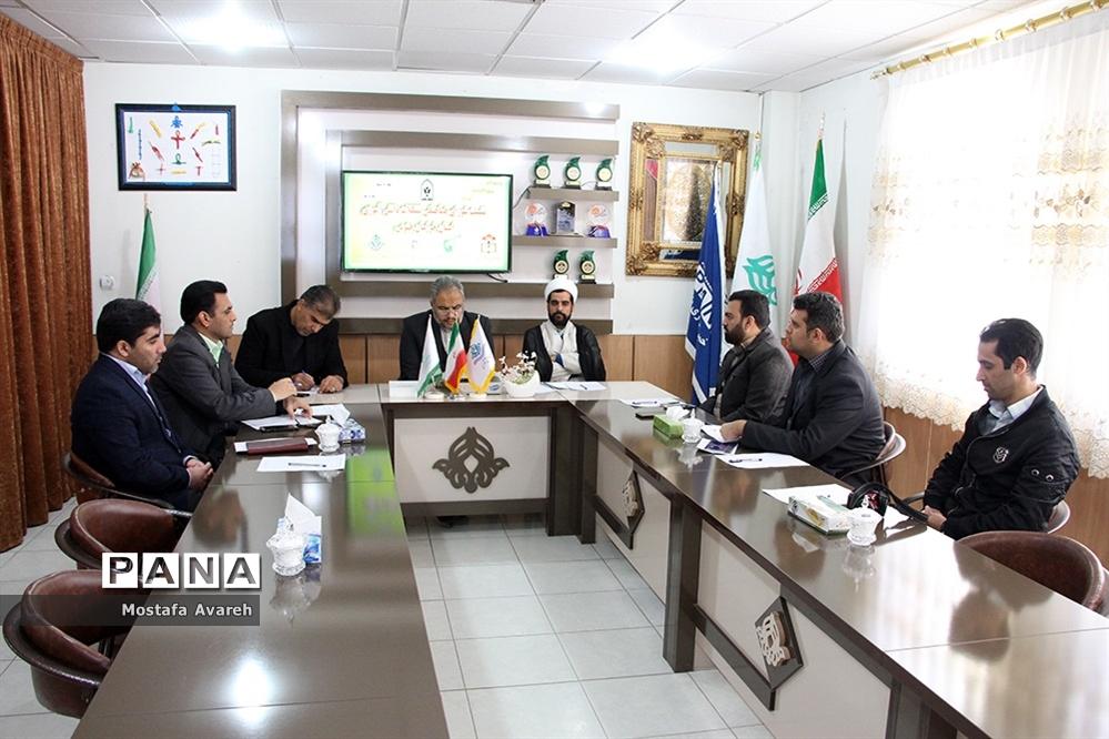 نشست شورای هماهنگی تشکلات دانش آموزی استان خراسان جنوبی