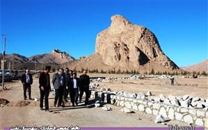 بازدید فرماندار شهرستان تفت از پروژه پارک طبیعتگردی عقاب کوه