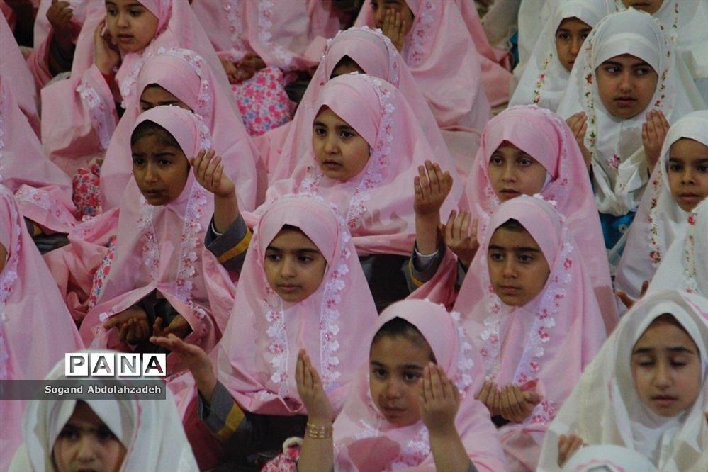جشن عبادت دانشآموزان دختر در ساری