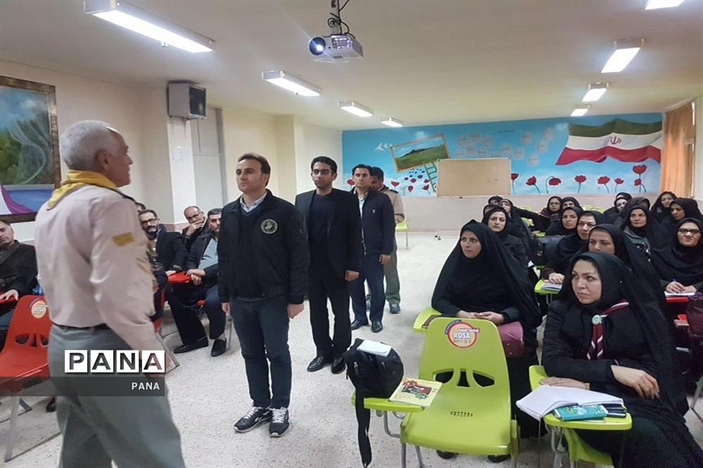 دوره آموزشی  مربیان جدیدالورود و باز آموزی مربیان پیشتاز سازمان دانش آموزی