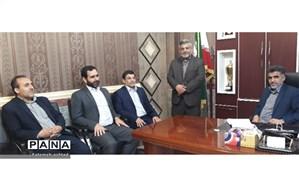بازدید بازرسان شهرستان شوش از اداره آموزش و پرورش شهرستان مسجدسلیمان