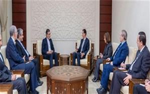 گفتوگوی جابری انصاری با  اسد درباره تاسیس کمیته قانون اساسی سوریه