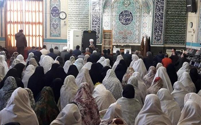 برنامه پیوند «مدرسه و مسجد» در مسجد احمدیه شهر زنجان برگزار شد