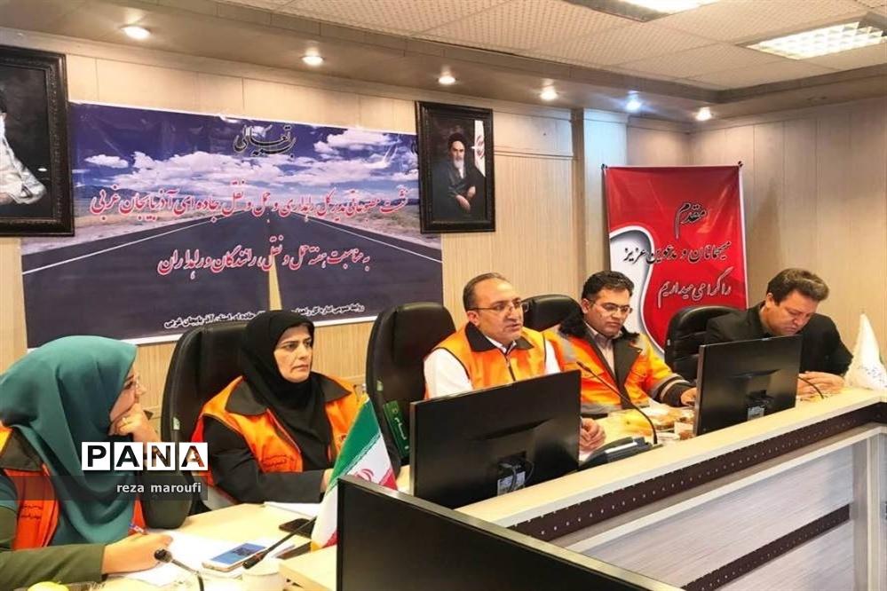 نشست خبری مدیرکل راهداری و حمل و نقل جادهای آذربایجان غربی